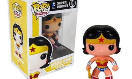 Wonder Woman Pop! Heroes Vinyl Figure