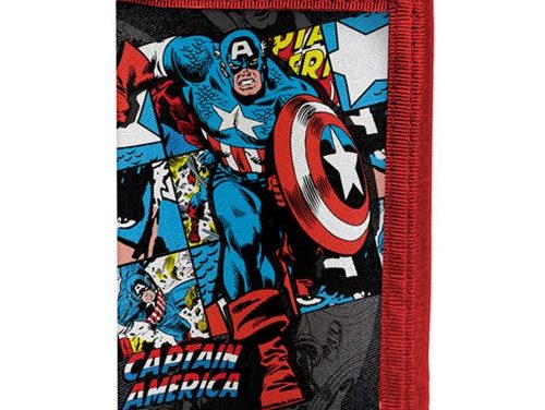 Marvel Comics Captain America Velcro Wallet