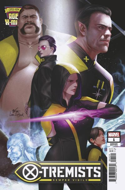 Age of X-man X-tremists #1 (of 5) (Inhyuk Lee Connecting Variant)
