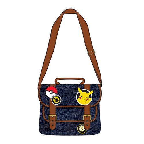 Pokemon Pikachu Patches Messenger Purse
