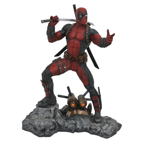 Marvel Premier Collection Deadpool Statue – Free Shipping