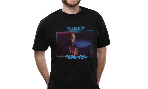 Hellraiser Inferno Katakana T-Shirt