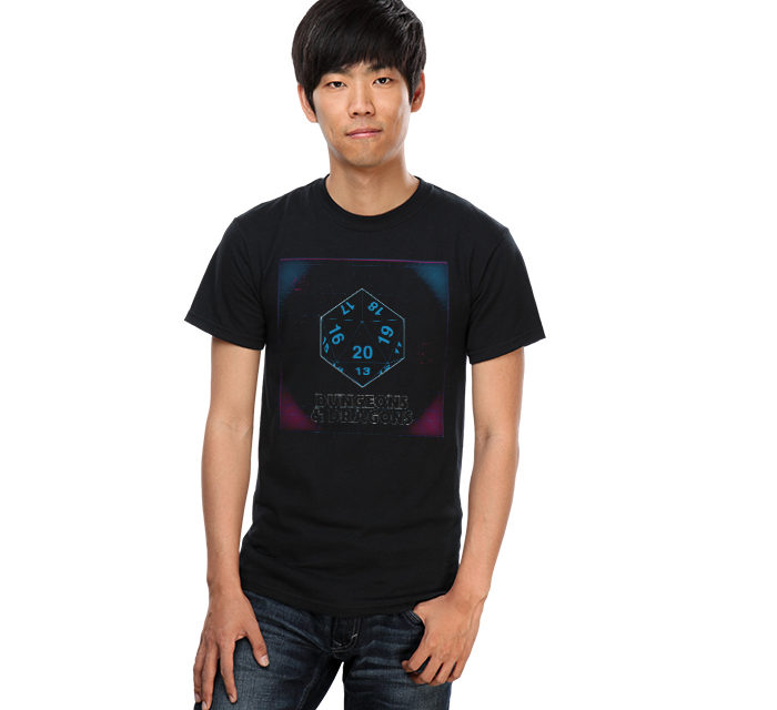 Dungeons & Dragons Dice T-Shirt