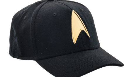 Star Trek Metal Badge Hat