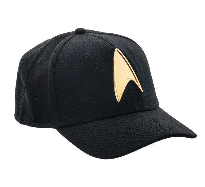 Star Trek Metal Badge Hat