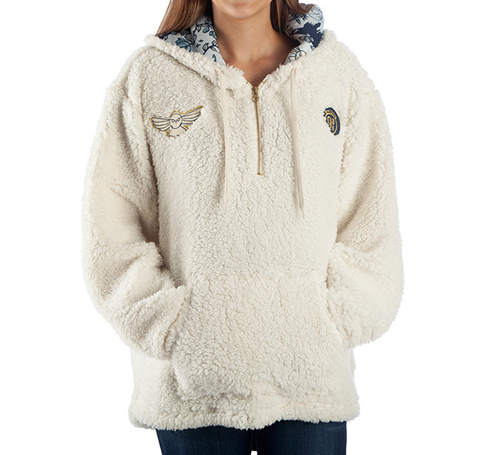 Harry Potter Oversized Sherpa Hoodie