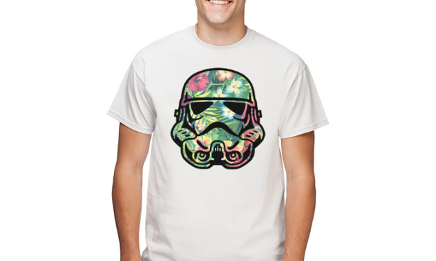 Tropical Stormtrooper T-Shirt