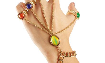 Avengers Infinity War Gauntlet Rings Bracelet