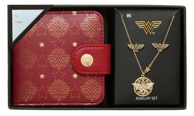Wonder Woman Jewelry Set
