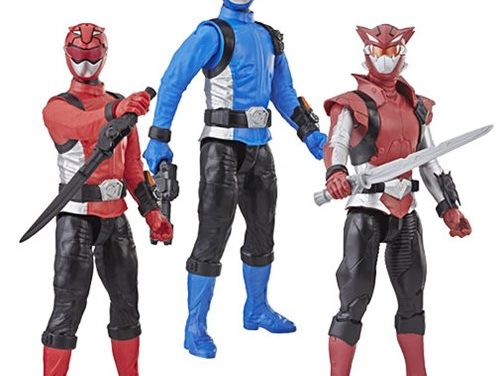 Power Rangers 12-Inch Action Figures Wave 1 Case – Free Shipping