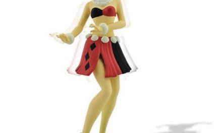 Harley Quinn Hula Girl Bobble Figure
