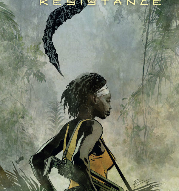 Aliens: Resistance #3 (Roberto de la Torre Variant Cover)
