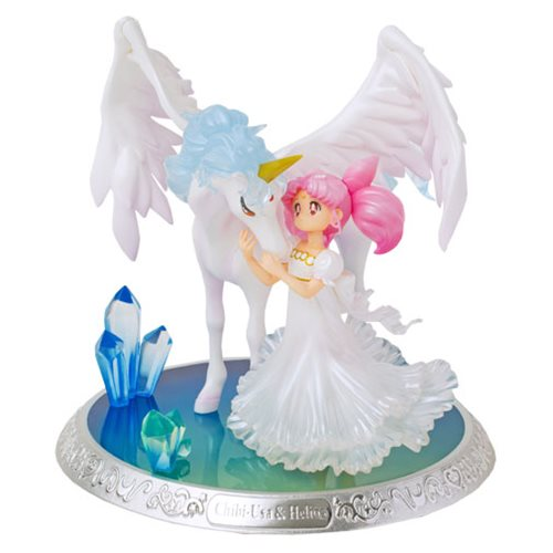 Sailor Moon Chibi-Usa and Helios Figuarts ZERO Chouette Statue