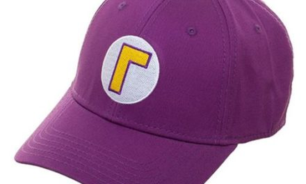 Super Mario Bros. Waluigi Flex-Fit Hat