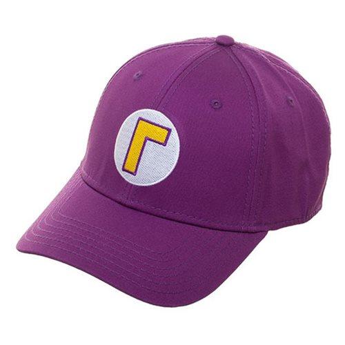 Super Mario Bros. Waluigi Flex-Fit Hat