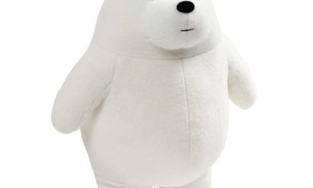 We Bare Bears Ice Bear Standing 11-Inch Plush