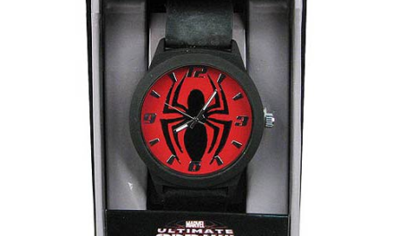 Spider-Man Emblem Strap Watch