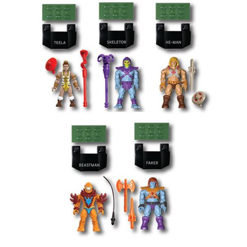 Masters of the Universe Mega Construx Heroes Collector's Edition Mini-Figure 5-Pack