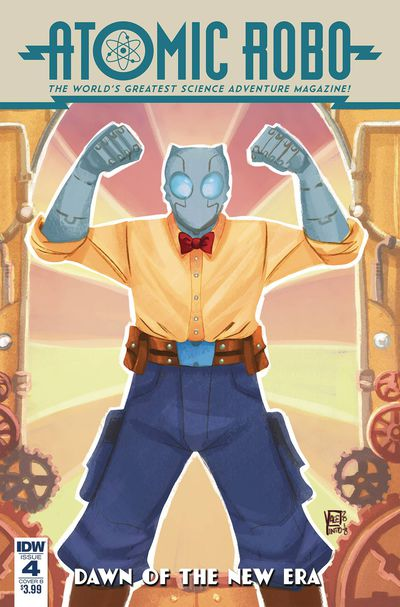 Atomic Robo & Dawn of New Era #4 (of 5) (Cover B – Pinto)