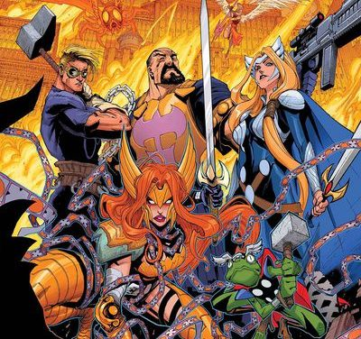 Asgardians of the Galaxy #8