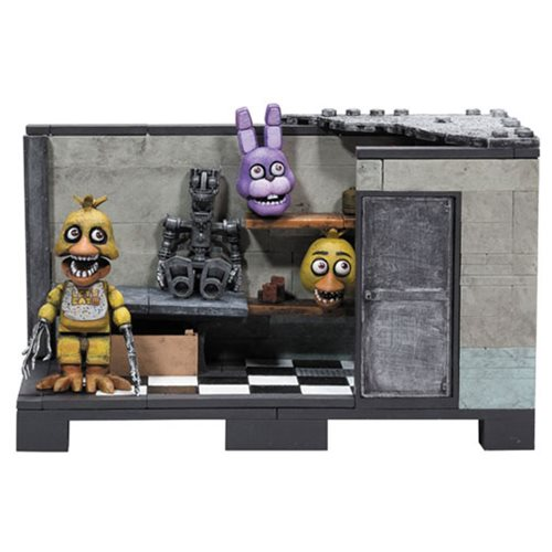 Five Nights at Freddy's Backstage Medium Construction Set
