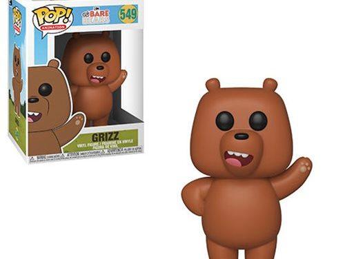 We Bare Bears Grizz Pop! Vinyl Figure #549