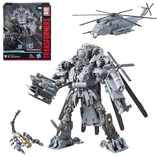 Transformers Studio Series Leader Class Blackout