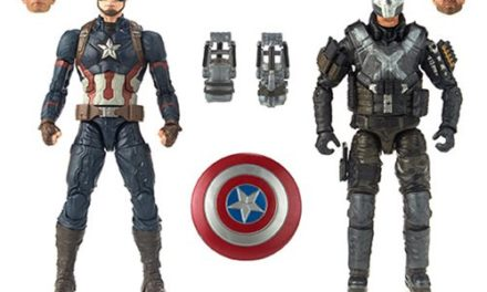 Marvel Legends Cinematic Universe 10th Anniversary Captain America and Crossbones 6-Inch Action Figure 2-Pack