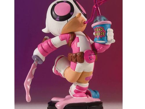 Gwenpool Animated Statue – Exclusive