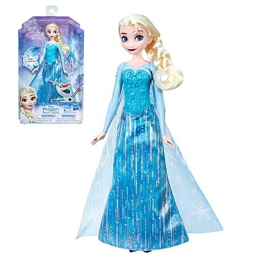 Frozen Shimmer 'n Sing Elsa Singing Doll