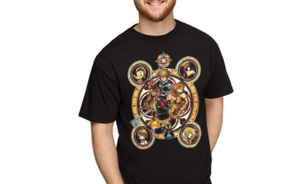 Kingdom Hearts Faces T-Shirt