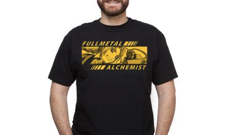 Full Metal Alchemist Bar T-Shirt