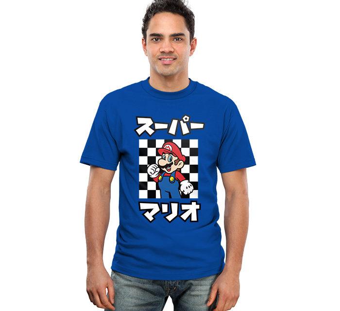 Super Mario Katakana T-Shirt