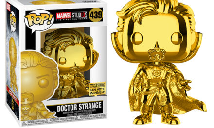 Funko POP! Doctor Strange Gold Chrome Vinyl Figure