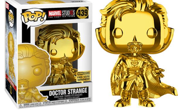 Funko POP! Doctor Strange Gold Chrome Vinyl Figure