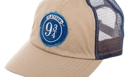 Harry Potter Platform 9 3/4 Embroidered Mesh Hat