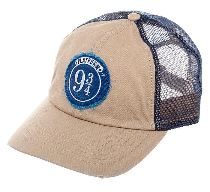 Harry Potter Platform 9 3/4 Embroidered Mesh Hat