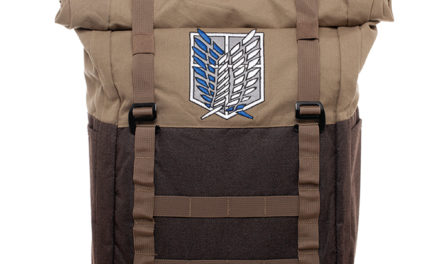 Attack on Titan Scout Regiment Rolltop Backpack