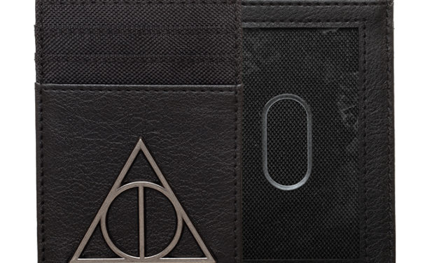 Harry Potter Sign of the Deathly Hallows Front Pocket Wallet