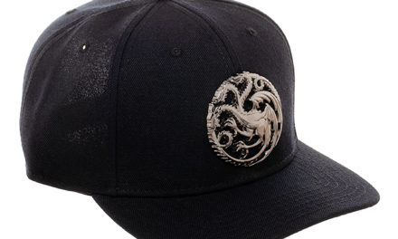 Game of Thrones Targaryen Sculpted Metal Hat