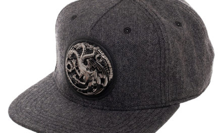 Game of Thrones House Targaryen Hat – Gray