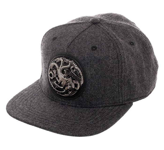 Game of Thrones House Targaryen Hat – Gray
