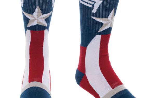 Captain America Suit Up Crew Socks