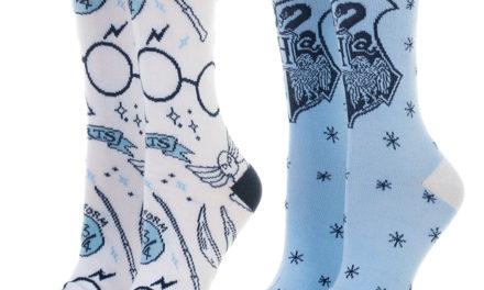 Harry Potter Holiday Hogwarts Socks