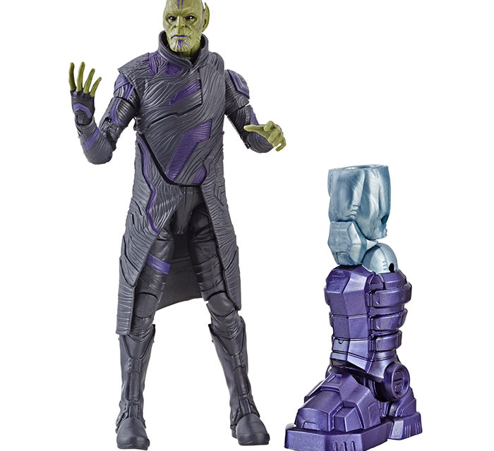 Marvel Legends Captain Marvel Talos Skrull 6″ Action Figure