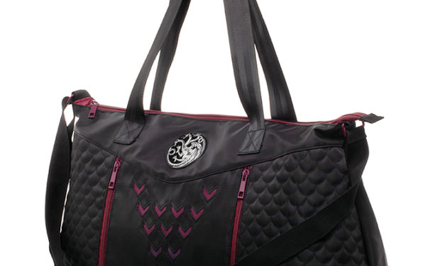 Game of Thrones House Targaryen Inspired Duffle Bag