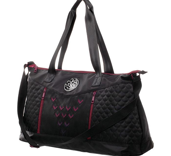 Game of Thrones House Targaryen Inspired Duffle Bag
