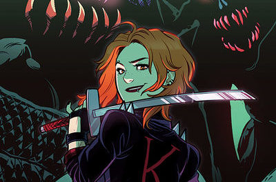 Calamity Kate #3 (Jenn St. Onge Variant Cover)