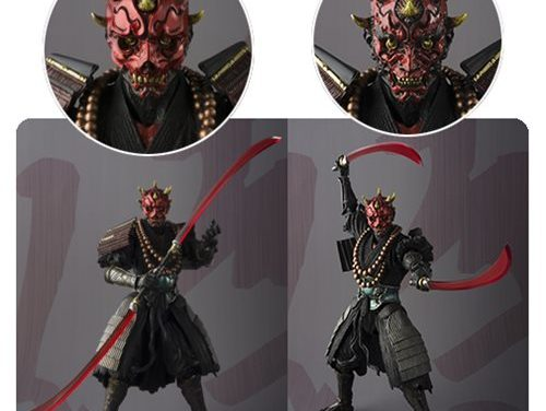 Star Wars Sohei Darth Maul Meisho Movie Realization Action Figure – Free Shipping