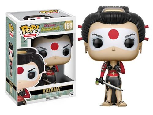 DC Bombshells Katana Pop! Vinyl Figure